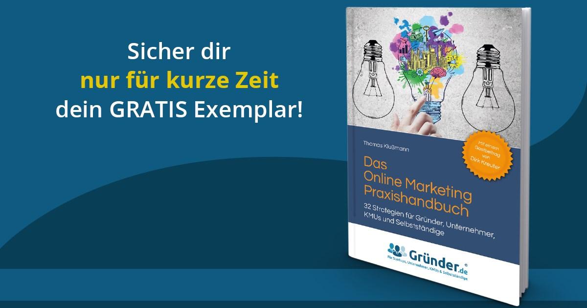 Das Online-Marketing-Praxishandbuch jetzt gratis bestellen.