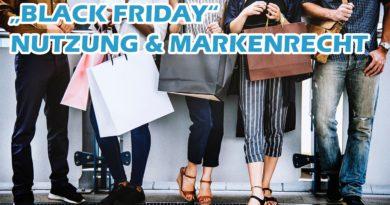 """""""Black Friday"""" Nutzung & Markenrechte"""