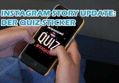 Instagram Story Update: der Quiz Sticker